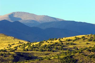 Mountain view near Melnik, The Pirin Mountains, Bulgaria