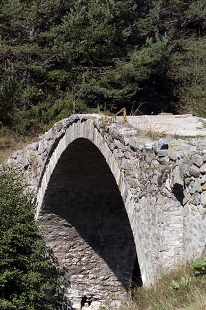 Roman bridge near Dospat, The Rhodope Mountains, Bulgaria