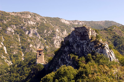 Assen's Fortress, The Rhodope Mountains,Bulgaria
