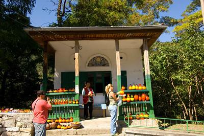 Bachkovo Monastery, Pottery and souvenir stall, Bachkovo, Bulgaria