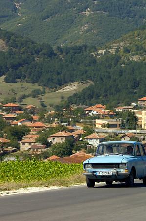Rural transport in Eastern Rhodope Mountains, Bulgaria