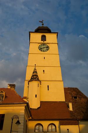 Councillors Tower, Old Town, Sibiu, Transylvania, Romania