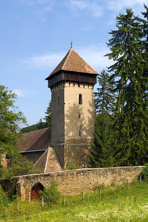 Fortified church, Malancrav, Transylvania, Romania