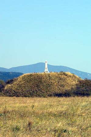 Ostrusha burial mounds near Kazanluk, Bulgaria
