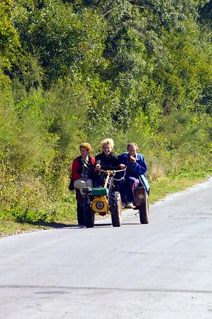 Rural transport near Madzharovo, Bulgaria