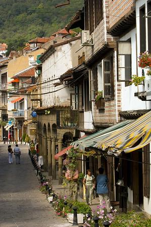 Rakovski Street in Old Town, Veliko Tarnovo, Bulgaria