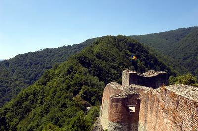 Poienari Castle, ( Dracula's Castle ) , Wallachia, Romania