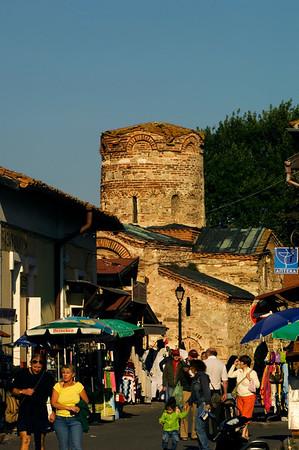 Church of St John the Baptist, Old Town, Nesebar, Black Sea coast, Bulgaria