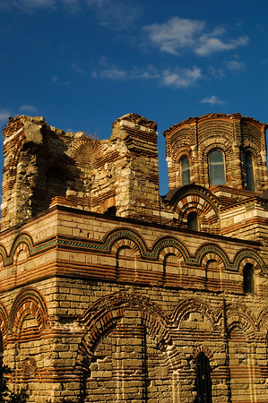 Church of Christ Pantocrator, Old Town,  Nesebar, Black Sea coast, Bulgaria