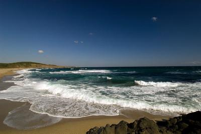 Black Sea coast and beach, Sinemorets, Bulgaria