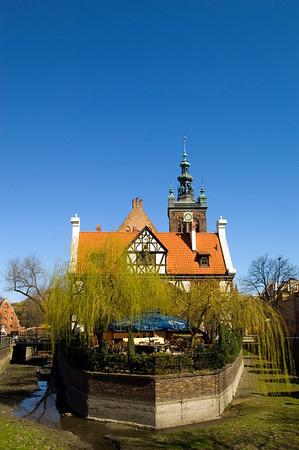 Raduna Canal, Old Town, Gdansk, Poland