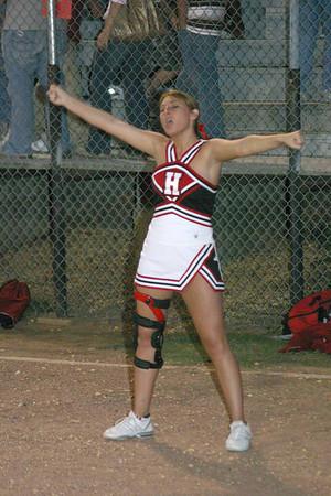 Hermitage cheerleaders
