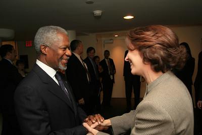 Annan Farewell Policy Speech