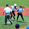 All Star North vs South softball game 2