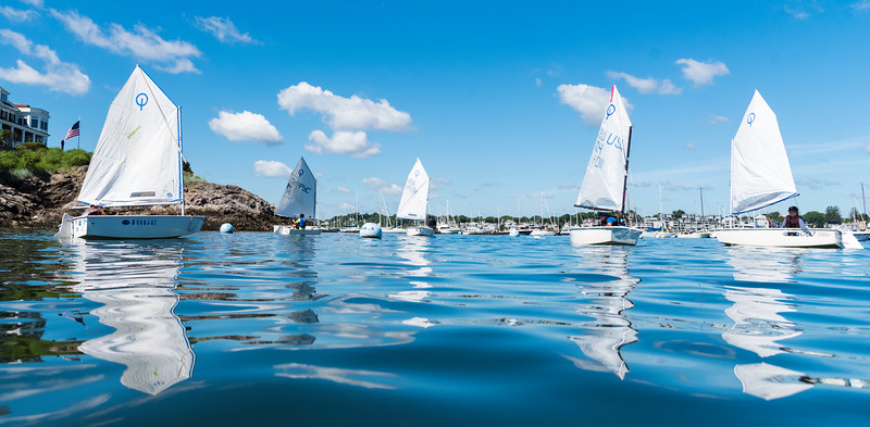 6 29 18 Sailboats at Pleon Yacht Club