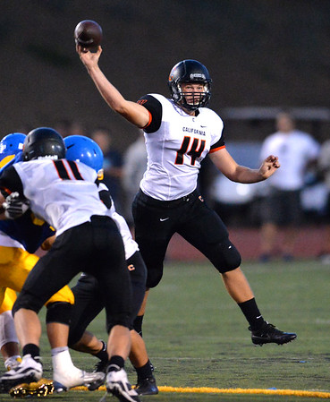 Foothill host California High in EBAL season opener