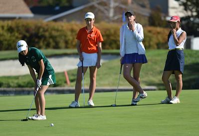EBAL Girls Golf 10192015