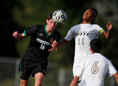 Archbishop Mitty versus Homestead boys soccer
