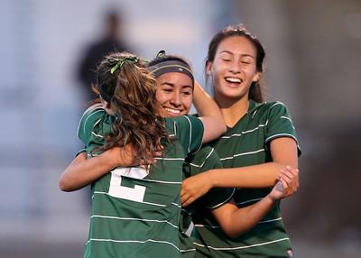 CCS Division II semifinal girls soccer game