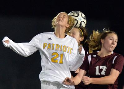 Heritage High vs. Liberty High girls soccer