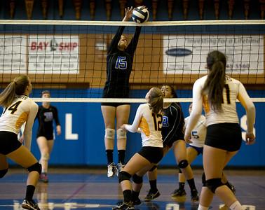 Alameda vs Encinal girls volleyball