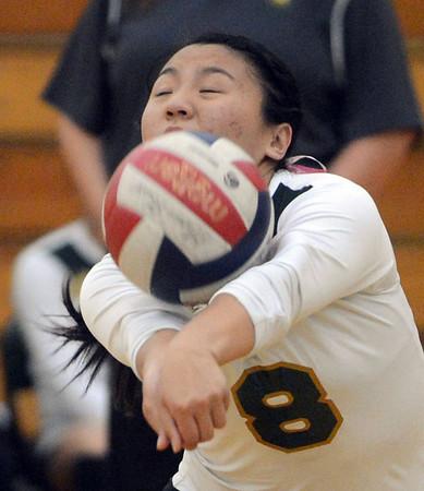 Moreau Catholic wins their volleyball match against Washington High