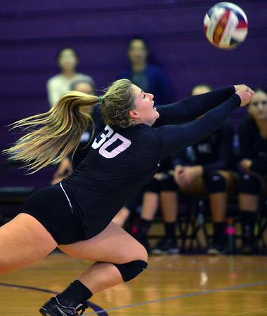 Piedmont vs. Bishop O'Dowd volleyball