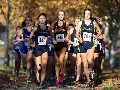 Diablo Foothill Athletic League cross country championships in Pleasanton