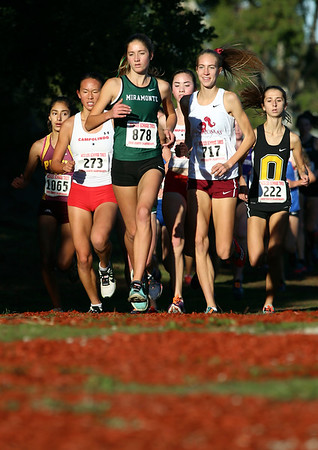 North Coast Section Cross Country Championships in Hayward