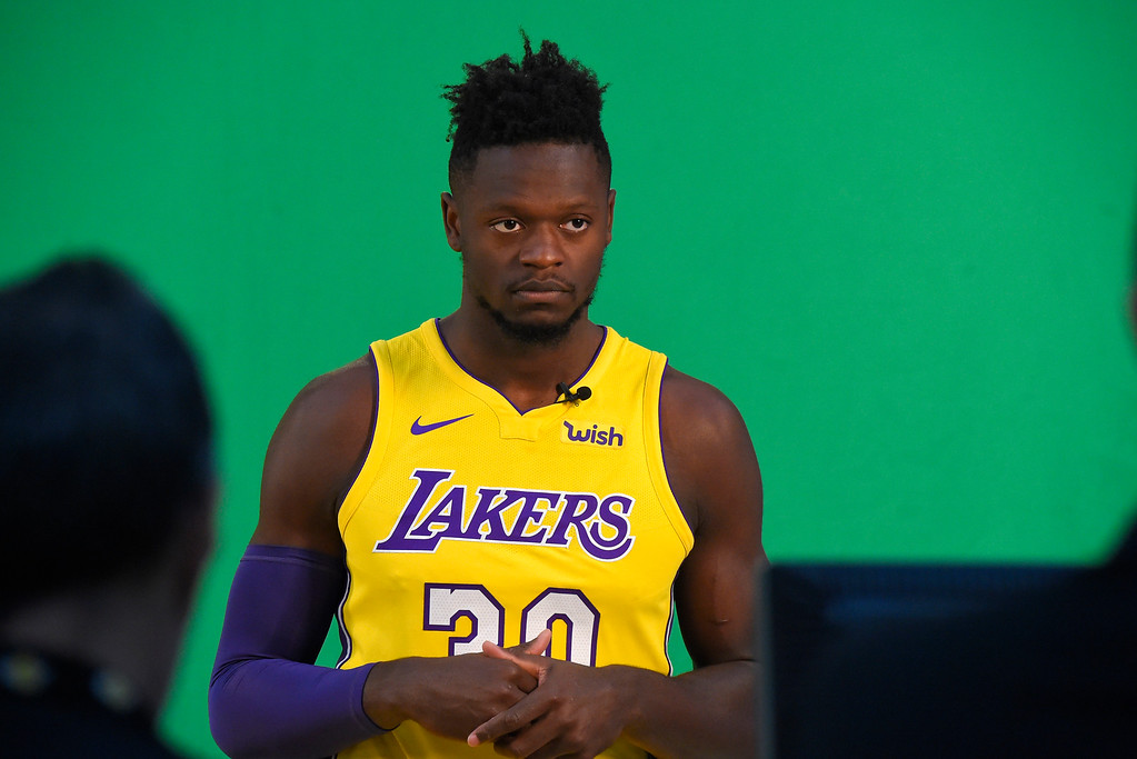. Julius Randle is photographed during the Lakers media day event at their new training facility in El Segundo on Monday, September 25, 2017. (Photo by Scott Varley, Daily Breeze/SCNG)