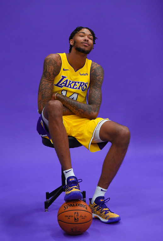 . Brandon Ingram is photographed during the Lakers media day event at their new training facility in El Segundo on Monday, September 25, 2017. (Photo by Scott Varley, Daily Breeze/SCNG)