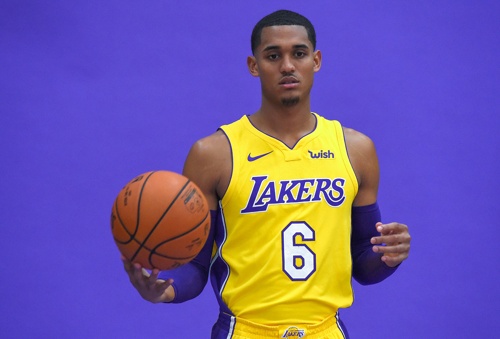 . Jordan Clarkson is photographed during the Lakers media day event at their new training facility in El Segundo on Monday, September 25, 2017. (Photo by Scott Varley, Daily Breeze/SCNG)