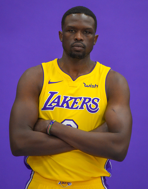 . Luol Deng is photographed at the Lakers media day event at their new training facility in El Segundo on Monday, September 25, 2017. (Photo by Scott Varley, Daily Breeze/SCNG)