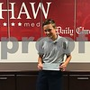 Magnus Keswani, 12, a seventh-grader at St. Mary Catholic School in Sycamore, shows off a check from the Daily Chronicle to fund his trip to Washington D.C. to compete in the 2017 Scripps National Spelling Bee.