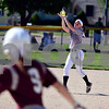 Kaneland shortstop Morgan Weber pulls in a liner Thursday against Marengo.