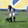 Kaneland rightfielder Kaiylyn Kurzrock scoops up a grounder Thursday against Marengo.