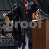 Sam Buckner for Shaw Media.<br /> Michawl Williams Dances across the stage at Graduation on Saturday June 3, 2017 at the Convocation center.