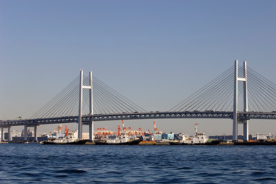 Bay Bridge, Minato Mirai, Yokohama, Japan