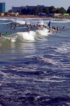 Neptun beach, Black Sea, Romania