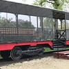 Riders sit in this open car for $2 train rides at The National Railroad Museum. (Harley Marsh - The News-Herald)