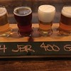 A flight from Titletown Brewing Company is shown in this image. (Harley Marsh-The News-Herald.)