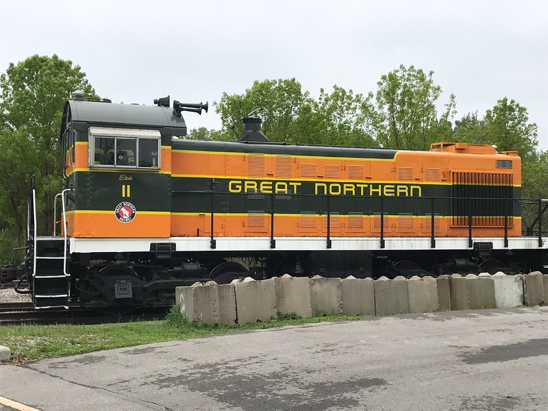 The Great Northern train at The National Railroad Museum. (Harley Marsh - The News-Herald)
