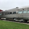 A diner car , the Silver Streak, sits outside The National Railroad Museum. (Harley Marsh - The News-Herald)