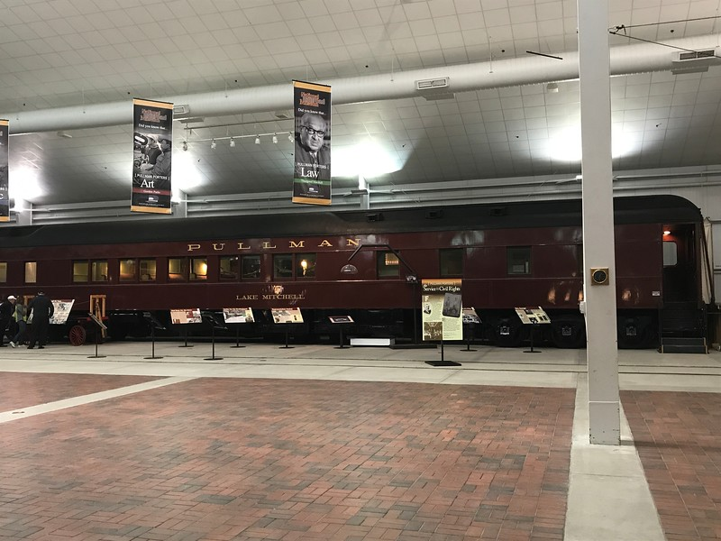 The Pullman sits inside The National Railroad Museum. (Harley Marsh - The News-Herald)