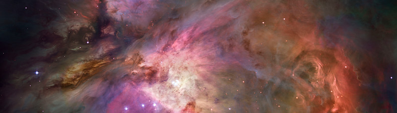 Hubble's sharpest view of the Orion Nebula