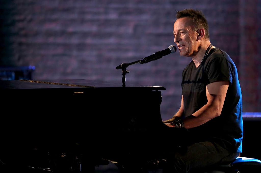 . Bruce Springsteen performs at the 72nd annual Tony Awards at Radio City Music Hall on Sunday, June 10, 2018, in New York. (Photo by Michael Zorn/Invision/AP)