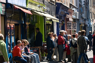 Cafe Bar in Berwick Street, W1, West End, London, United Kingdom
