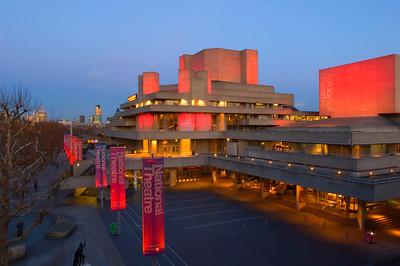 National Theatre , Southbank, London, UK