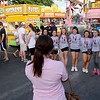 Jonathan Tressler — The News-Herald <br> A smart-phone photo of some of the cheer-leading talent gets snapped during the opening day of the 58th Annual Kirtland Kiwanis Strawberry Festival during its opening day June 15.
