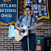 Jonathan Tressler — The News-Herald <br> Kirtland High School soon-to-be-senior Chaz McPeak plays a number for the crowd during his performance on opening day of the 58th Annual Kirtland Kiwanis Strawberry Festival June 15.